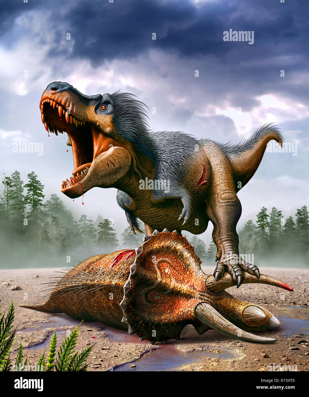Tyrannosaurus | Prehistoric Life Wiki | Fandom