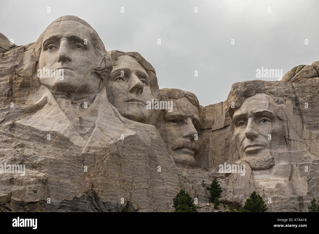 Presidents faces stock photos
