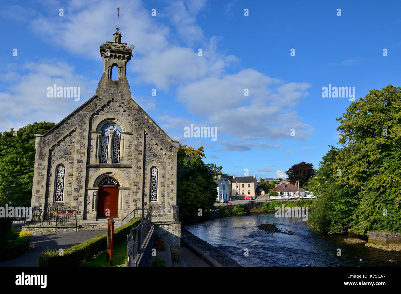 Donegal Methodist Church in Donegal Town, County Donegal, Republic of Ireland - Stock Image