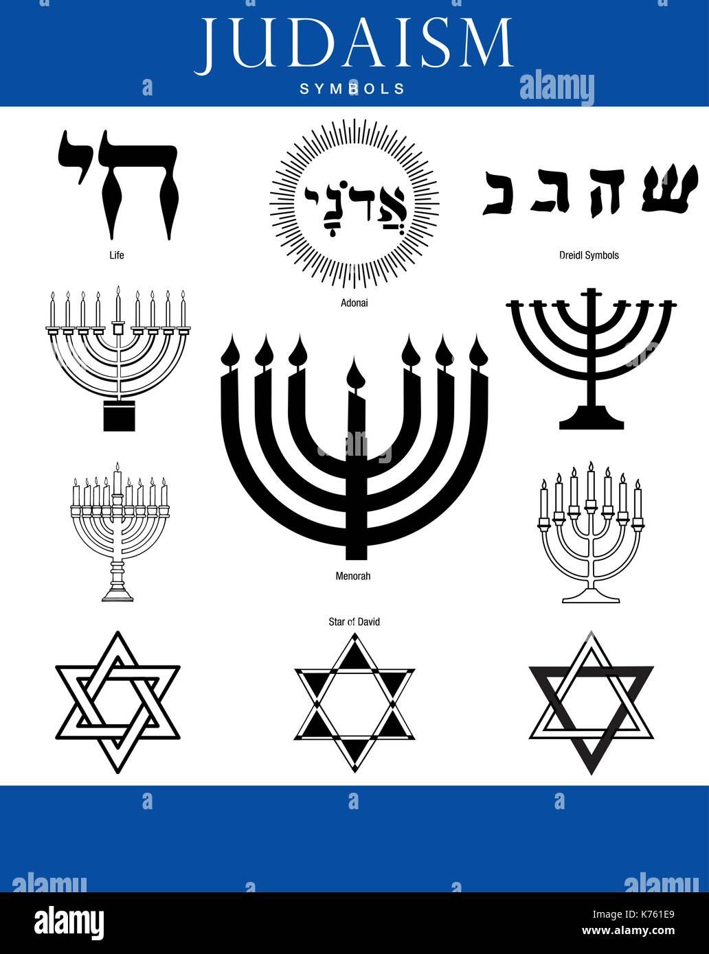 Hebrew Candlestick Stock Photos Hebrew Candlestick Stock Images