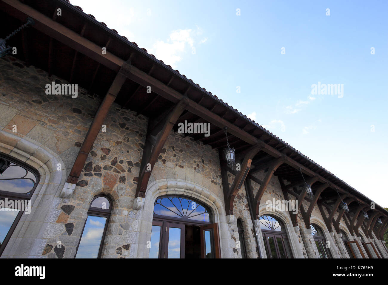 Chalet du Mont-Royal, Montreal Canada - Stock Image