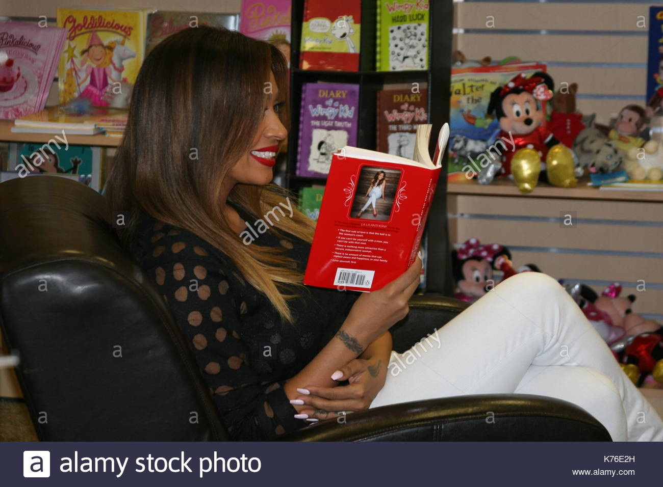 La la anthony la la anthony promoted her new book the love stock la la anthony promoted her new book the love playbook at books and greetings in northvale new jersey on january 29 2014 m4hsunfo