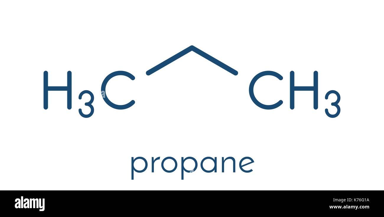 Propane Molecular Stock Photos Propane Molecular Stock Images Alamy