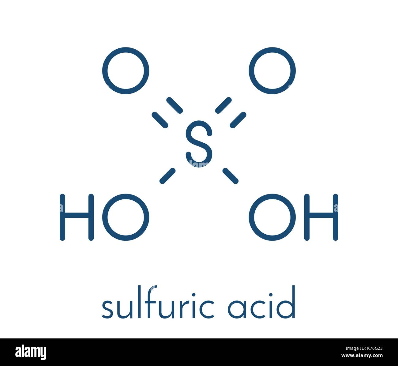 Sulfuric Acid Molecule Stock Photos Sulfuric Acid Molecule Stock