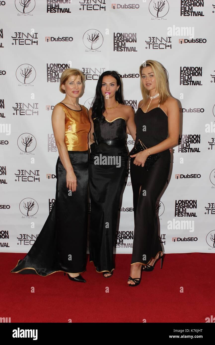 London Flim Fashion Awards 2017 ... - Stock Image