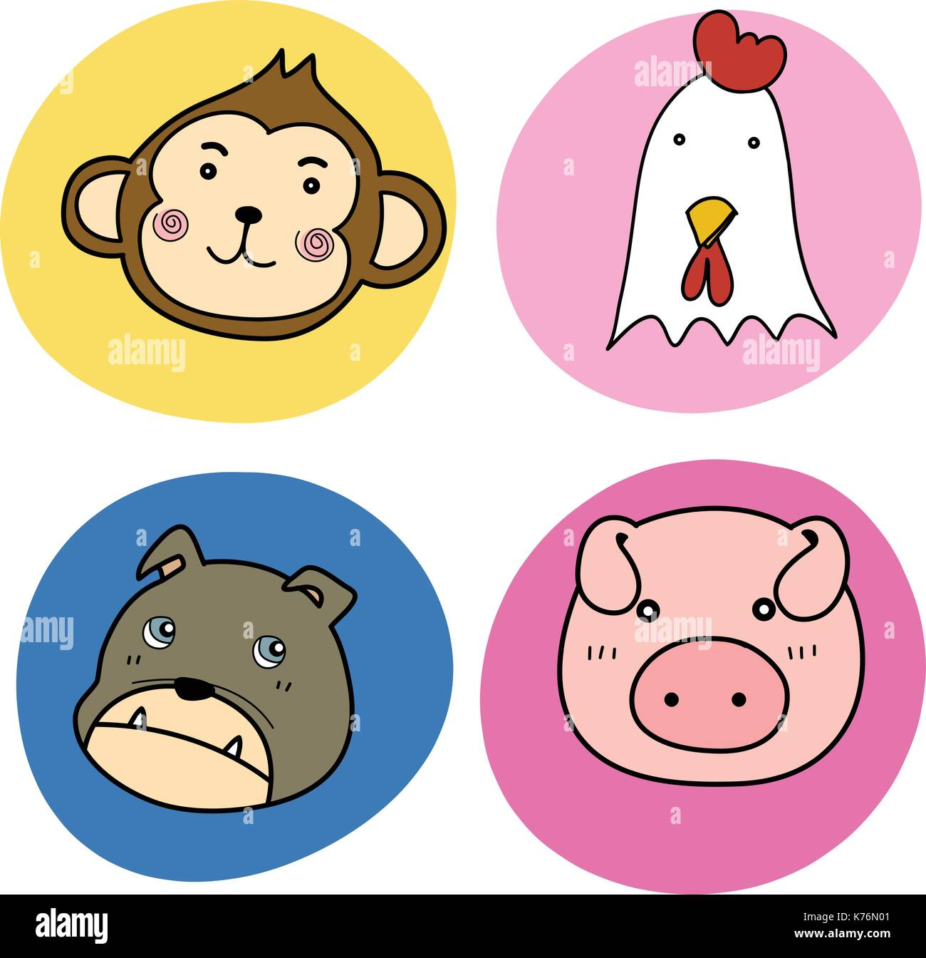 Baby Donkey Cut Out Stock Images & Pictures - Alamy