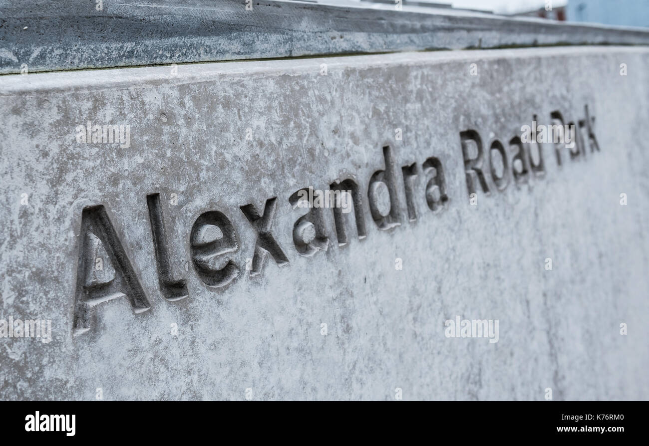Alexandra & Ainsworth Estate, London Stock Photo