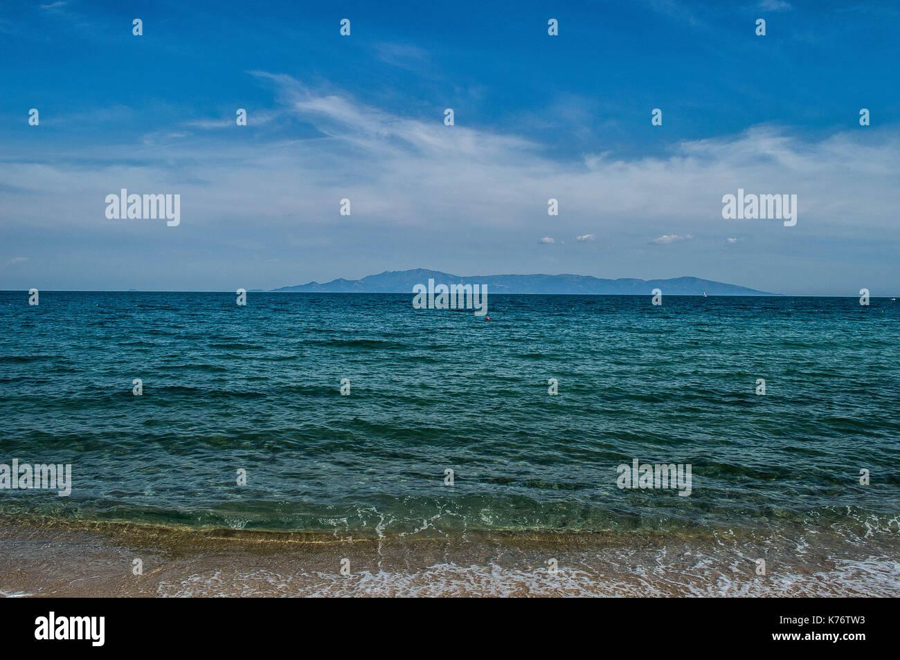 Sea, Greece Stock Photo