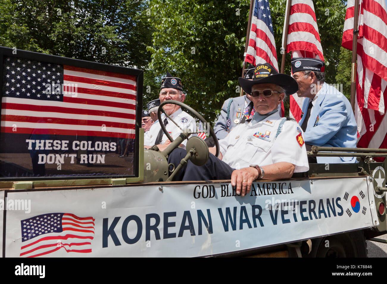War usa korean United States