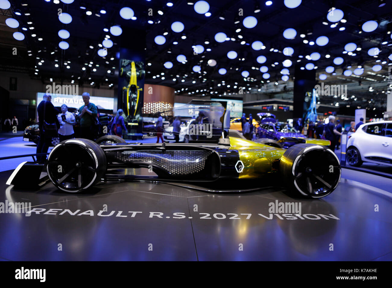 Renault r.s 2027 vision salon de shanghai 2017 1:43 auto stradali scala