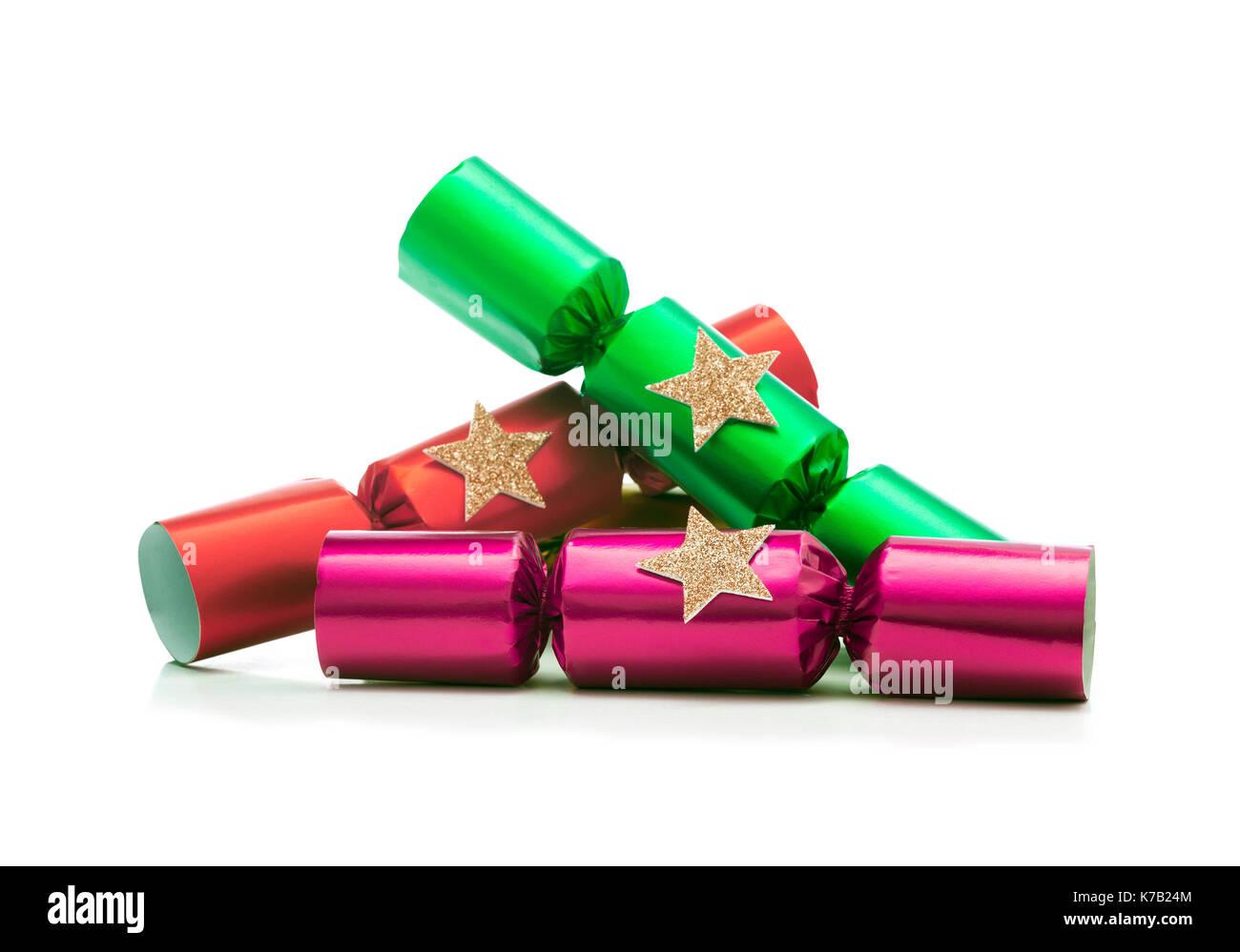 Christmas Cracker Stock Photo