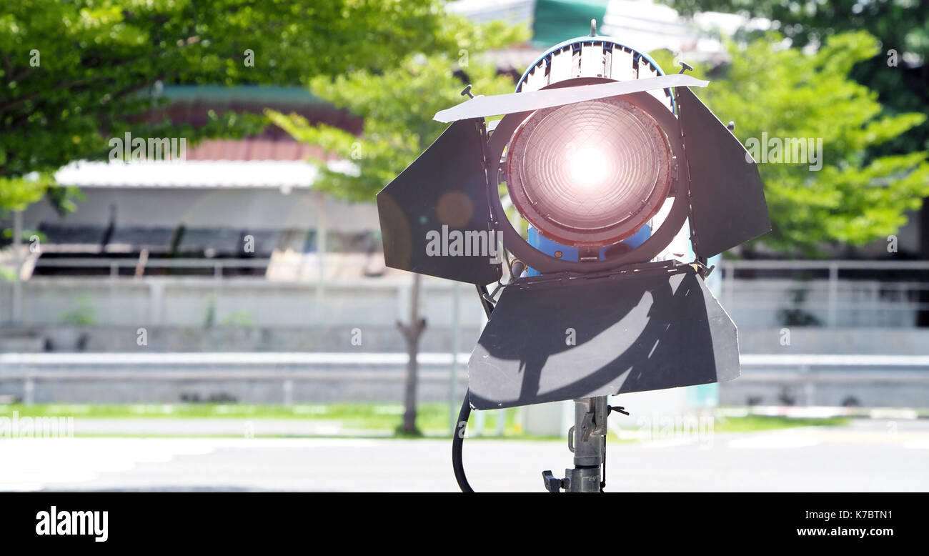 Big studio lighting with tripod for video production and outdoor big studio lighting with tripod for video production and outdoor stock photo 159456781 alamy workwithnaturefo