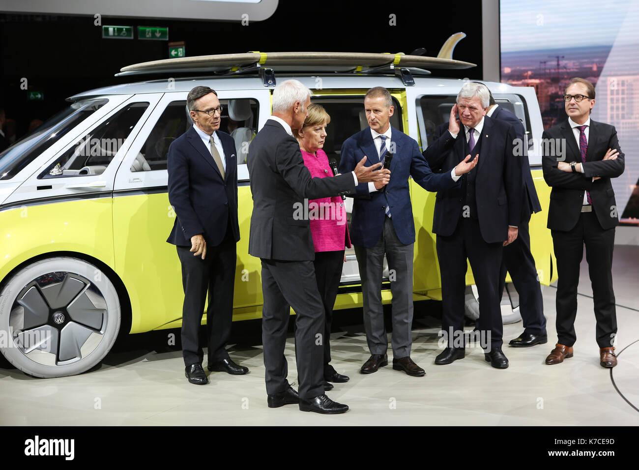 Frankfurt, Germany. 14th September, 2017. International Motor Show 2017 (IAA, Internationale Automobil-Ausstellung), Stock Photo
