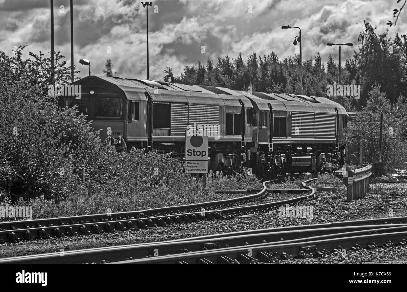 Toton TMD (Notts) - Stock Image