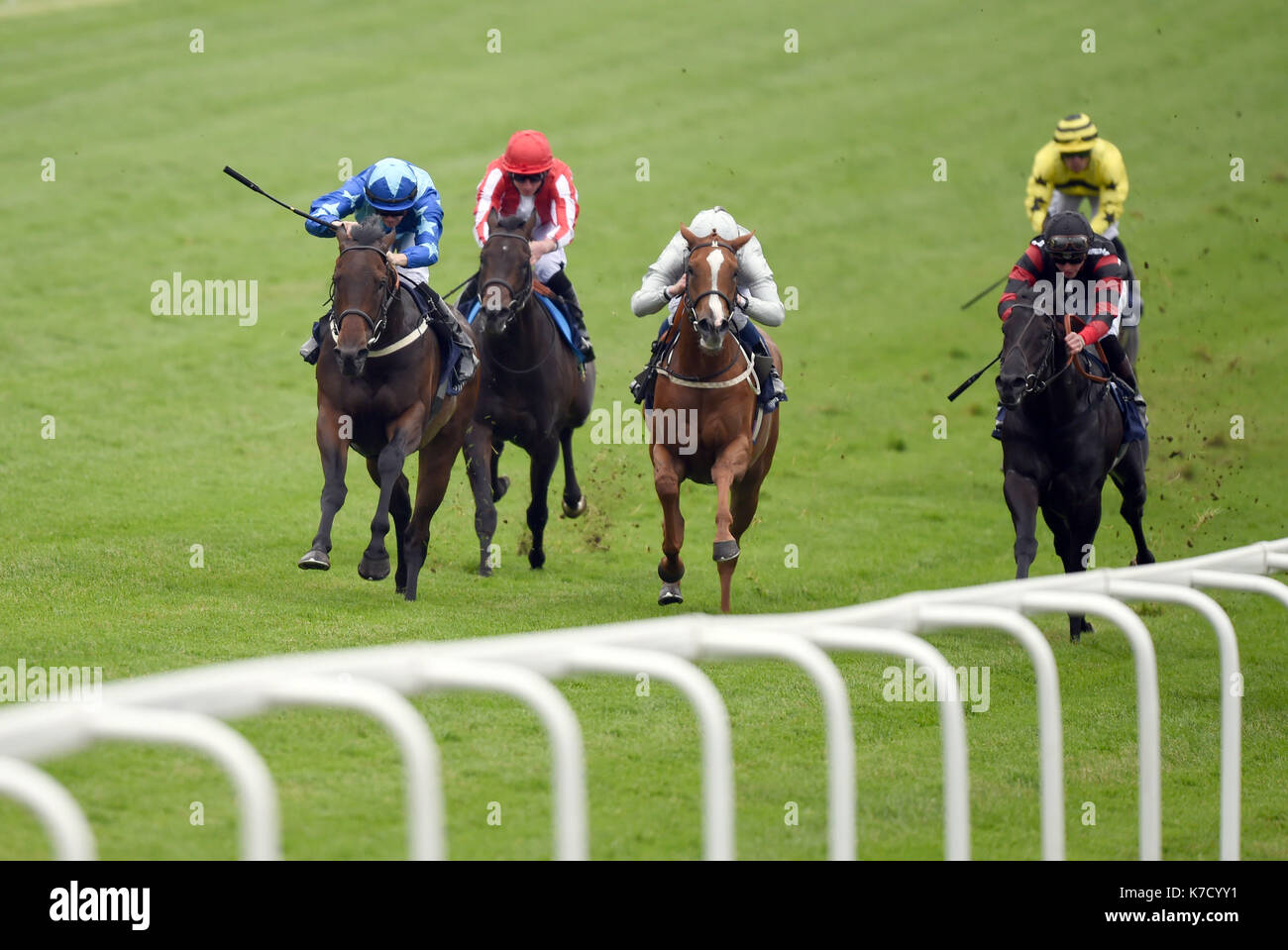 Photo Must Be Credited ©Alpha Press 079965 03/06/2016 Horse Racing at Ladies Day during The Investec Derby Festival 2016 at Epsom Downs Racecourse in Epsom, Surrey. - Stock Image