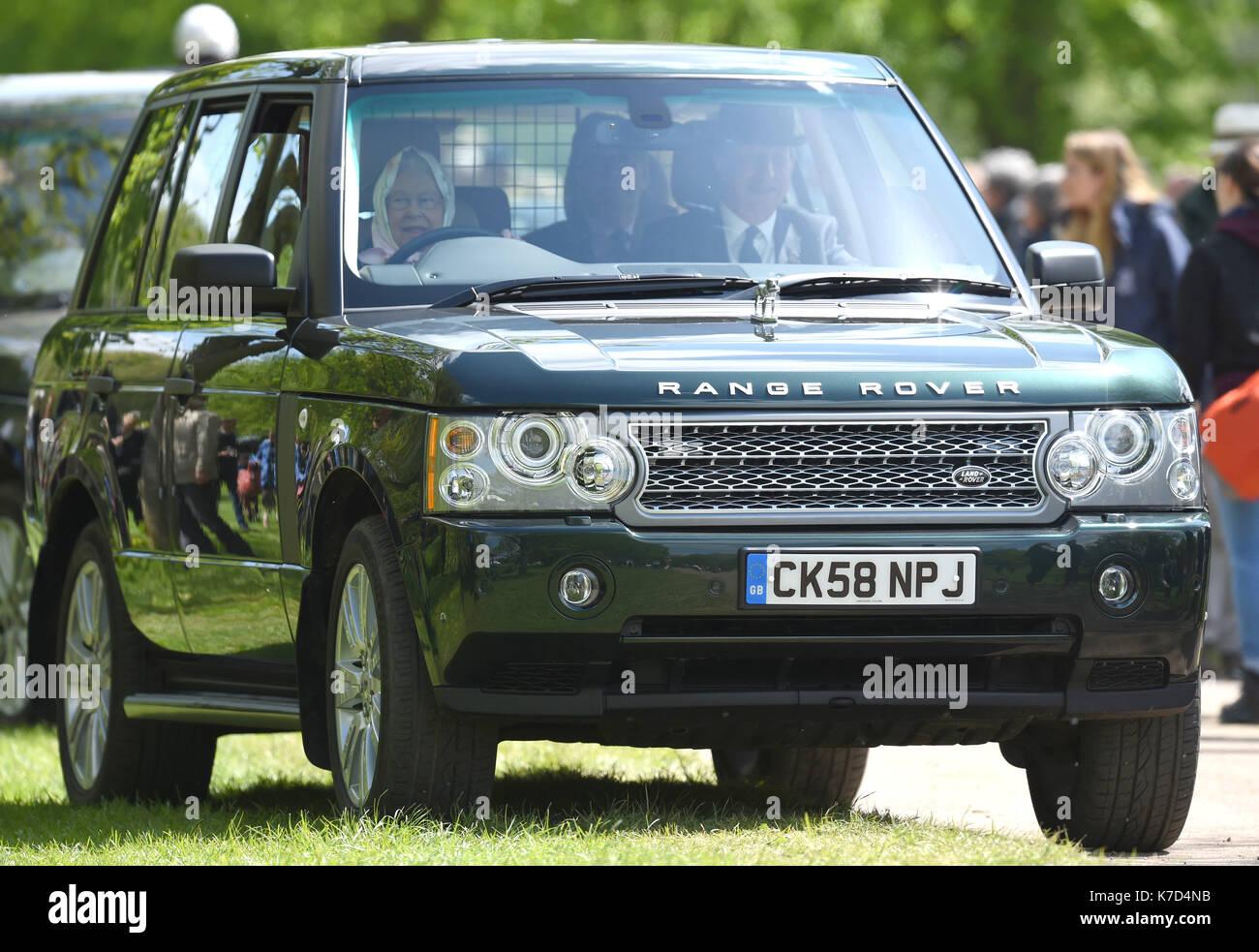 Photo Must Be Credited CAlpha Press 079965 14 05 2016 Queen Elizabeth II