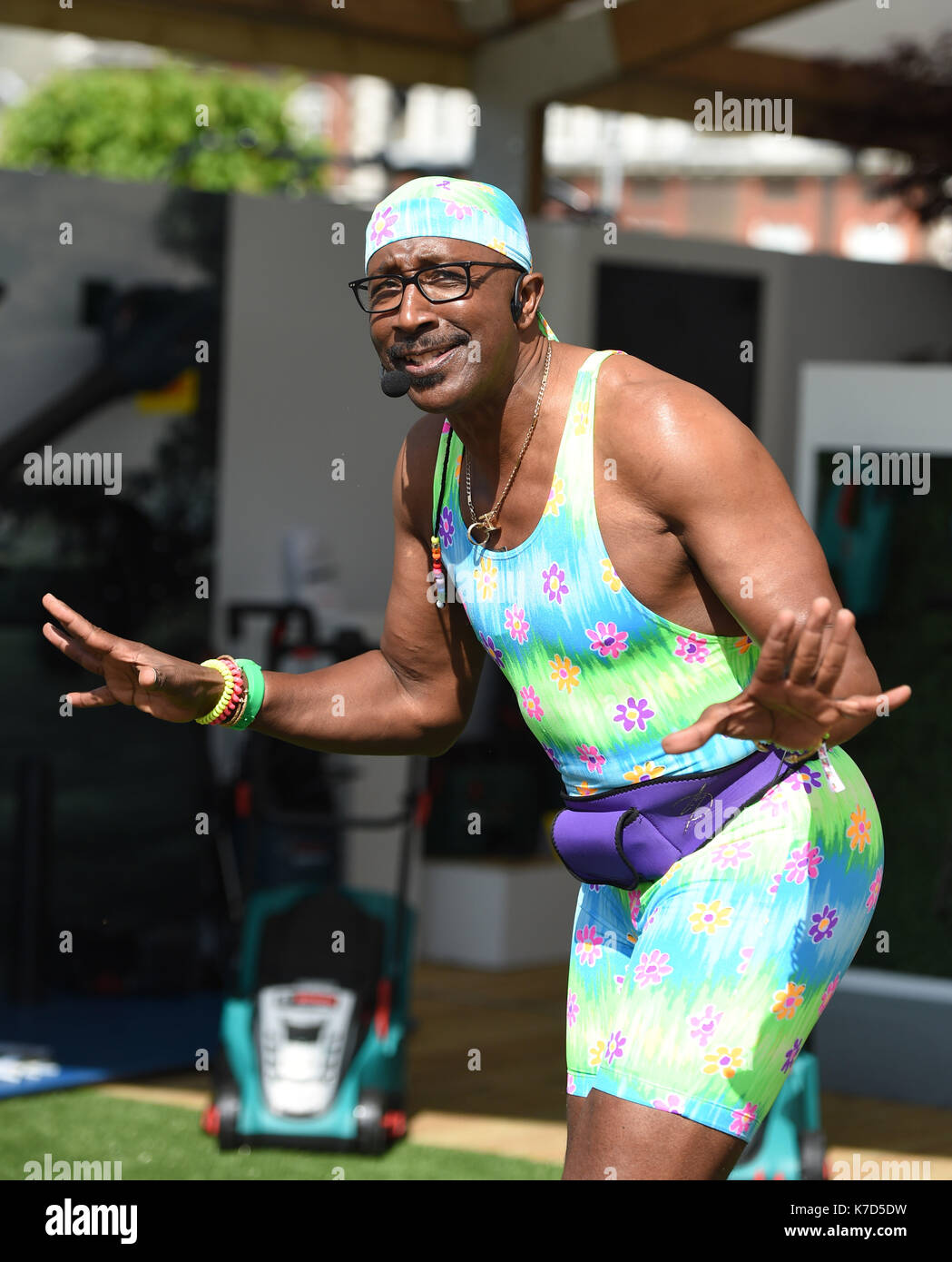 Mr Motivator Aka Derrick Evans High Resolution Stock Photography And Images Alamy