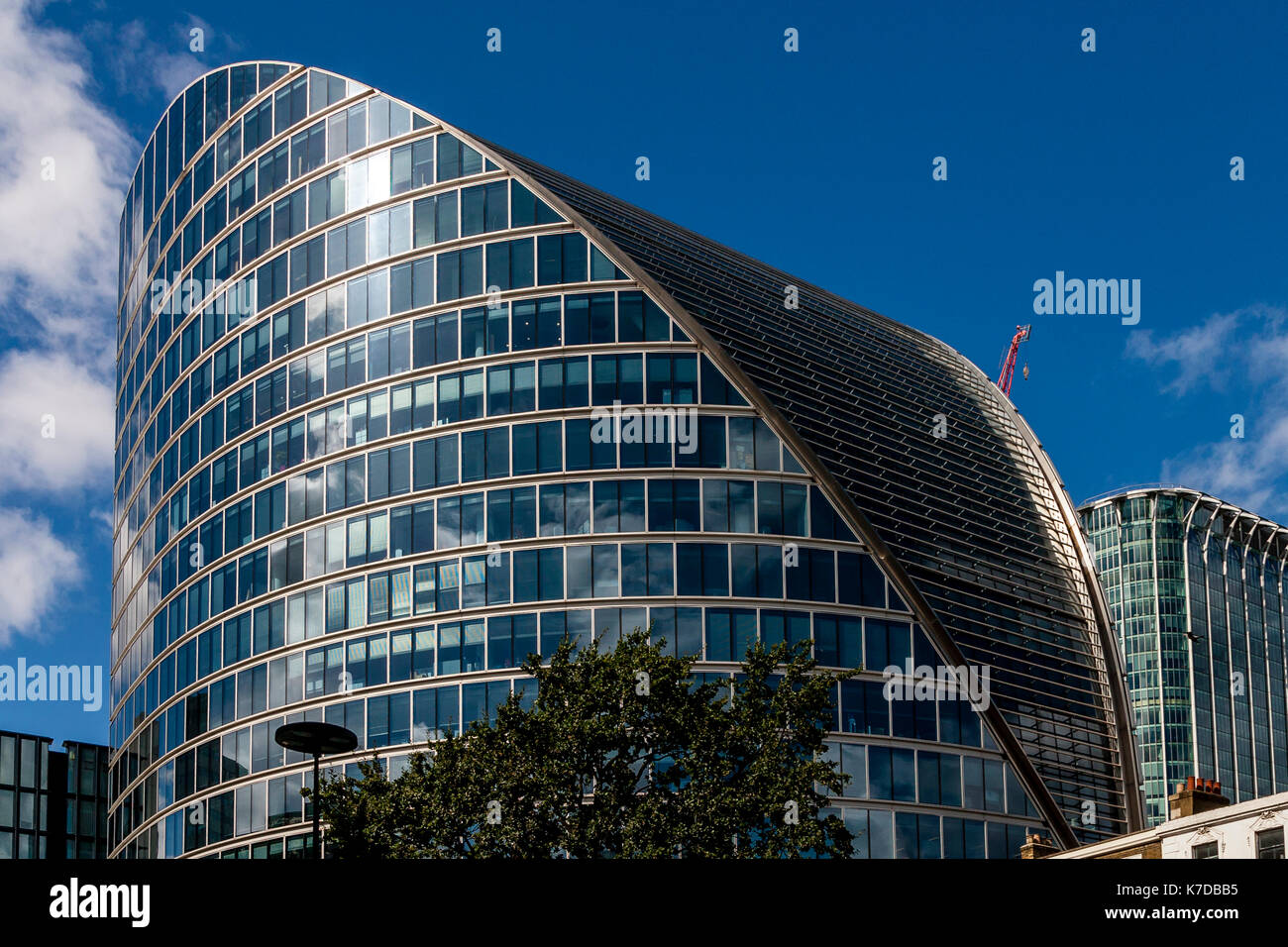 Moor House, Moorgate, The City Of London, London, UK - Stock Image