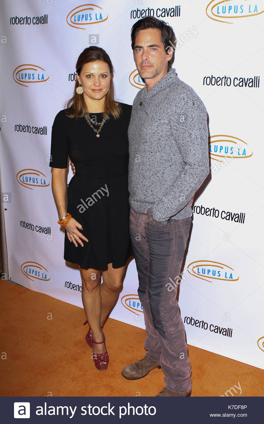 Erin Banks and Adam Kaufman. 12th Annual Lupus LA Hollywood Bag Ladies Luncheon on November 21, 2014 in BeverlyStock Photo