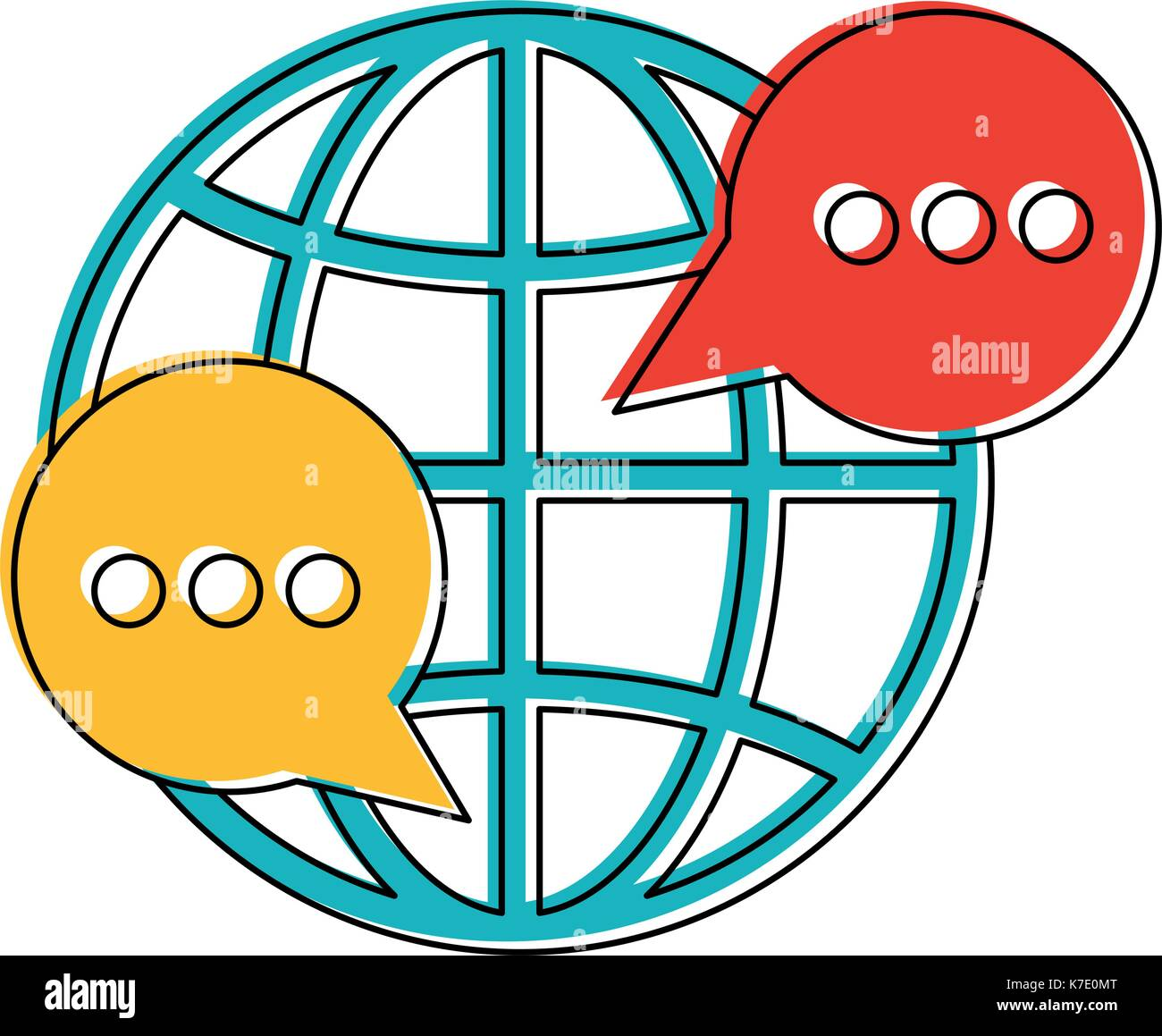 Global Communication Icon Image Stock Vector Image Art Alamy We upload amazing new icon designs everyday! https www alamy com global communication icon image image159503816 html