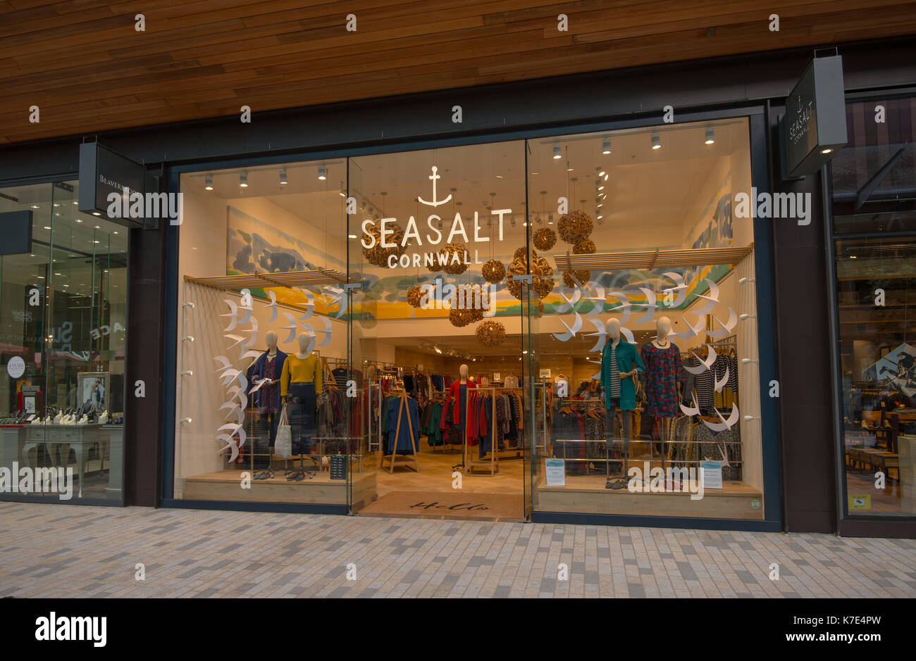 Seasalt Cornwall retail store in Bracknell town centre. Berkshire, UK. - Stock Image