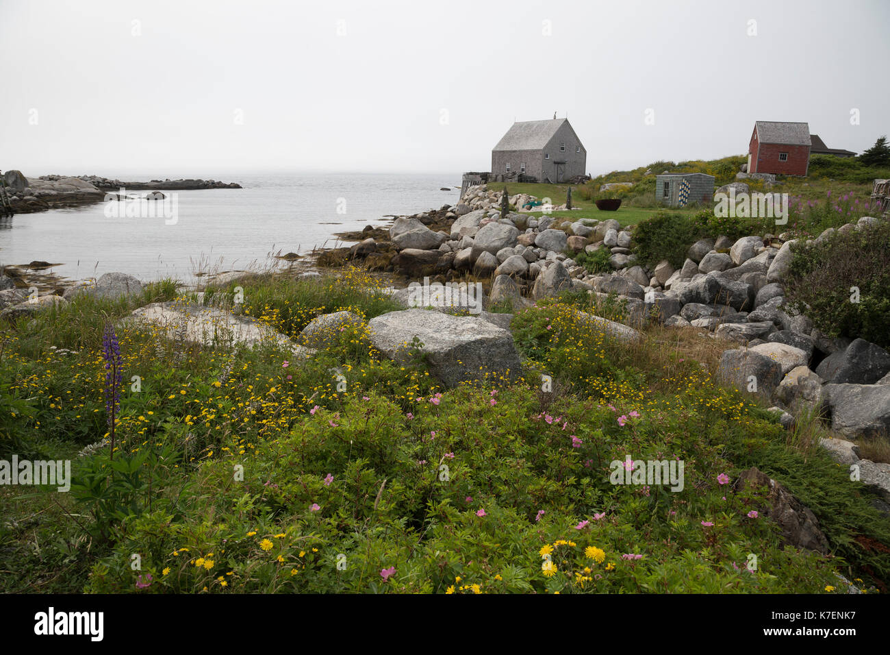 Middle Point Cove #1 - Stock Image