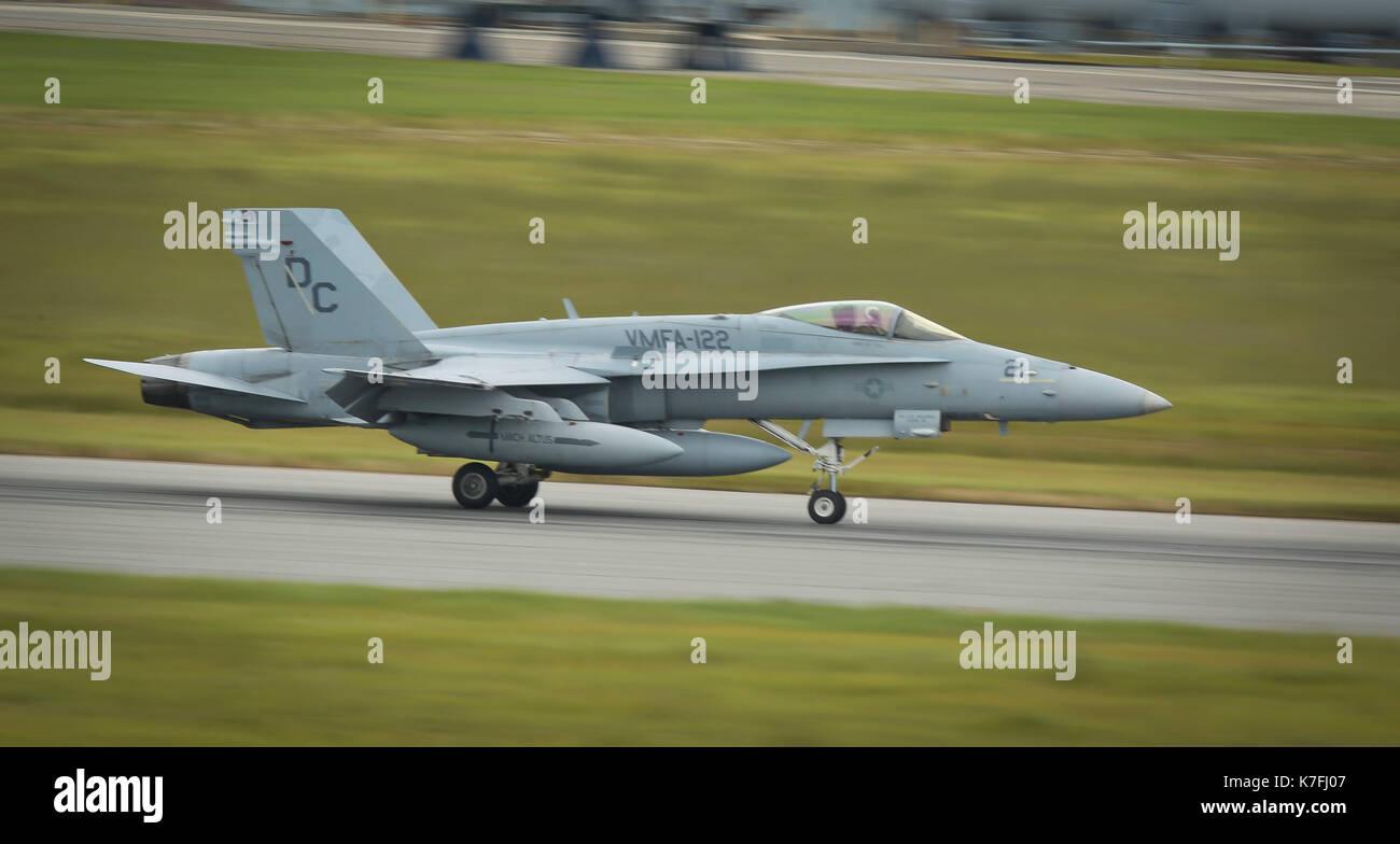 F/A-18C Hornet - Stock Image