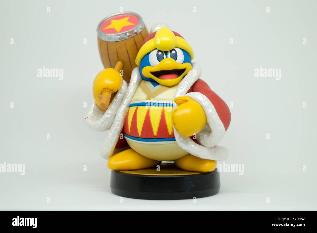 Nintendo Super Smash Bros Amiibo Collection Figure King Dedede Stock