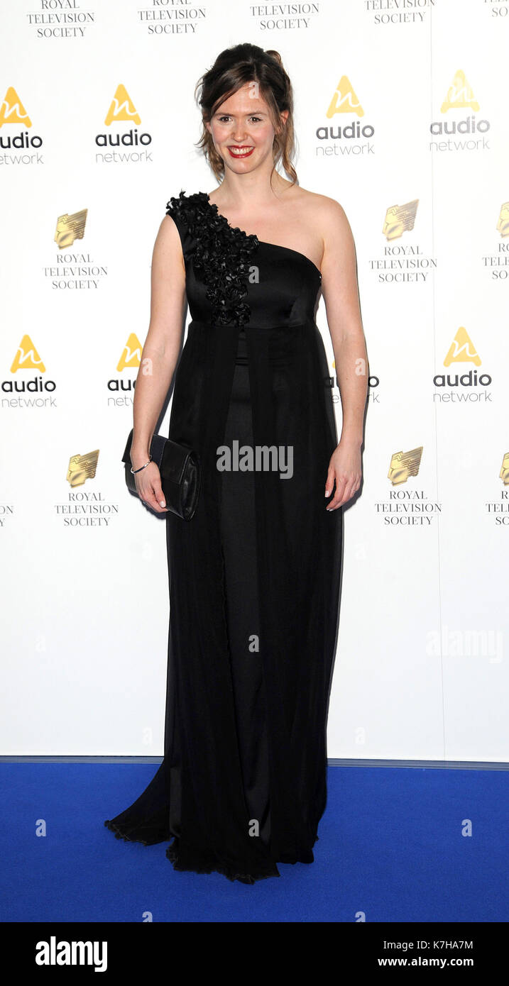 Photo Must Be Credited ©Alpha Press 078237 22/03/2016 Emily Cox at the Royal Television Society (RTS) Programme Awards 2016 held at Grosvenor House Hotel, Park Lane London - Stock Image