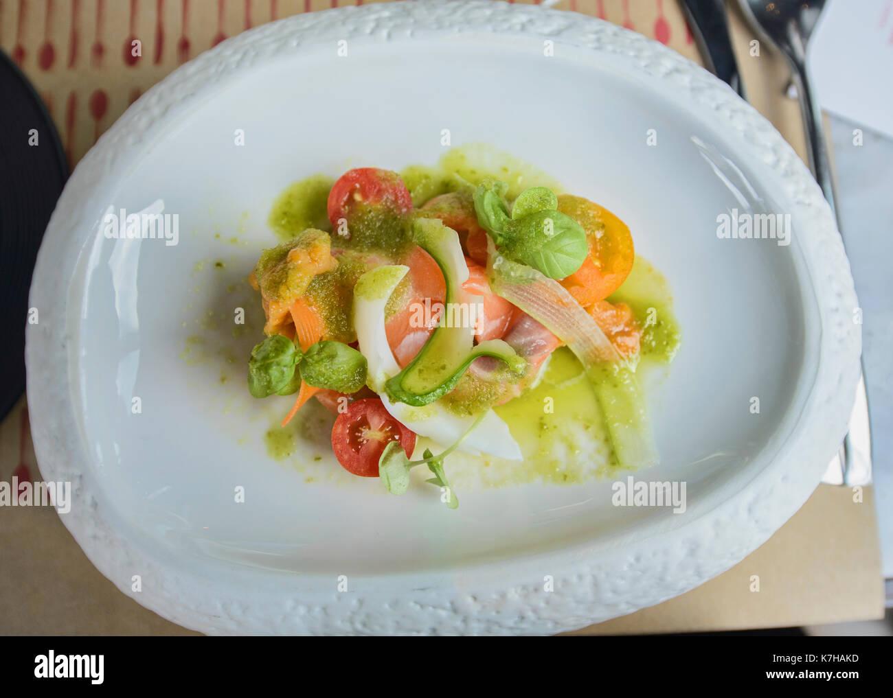 Gourmet cuisine, Bangkok, Thailand - Stock Image
