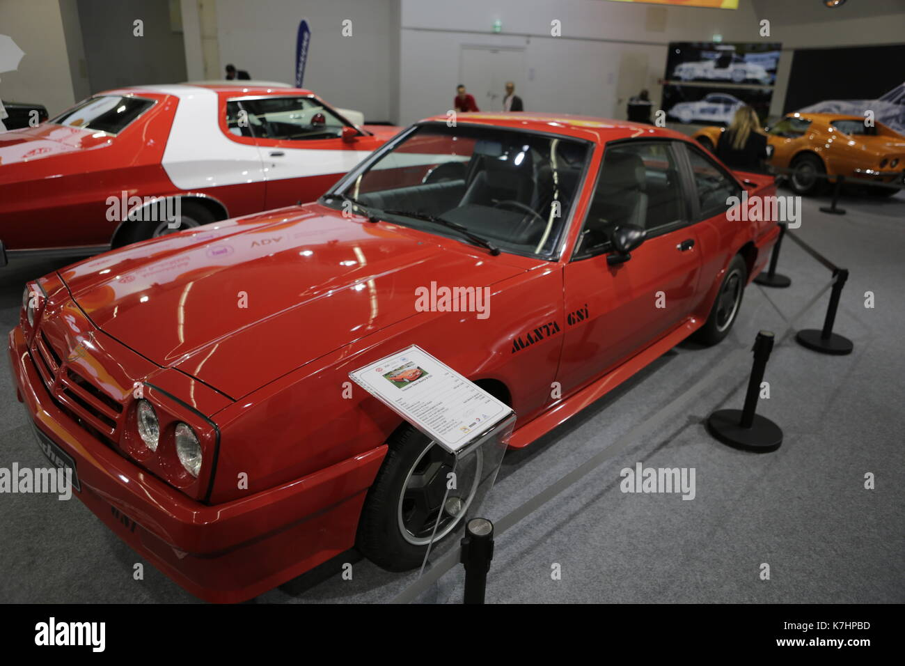 Opel Manta Stock Photos Images Page 2 Alamy 1973 Interior Frankfurt Germany 15th September 2017 A 1985 Irmscher B Gsi