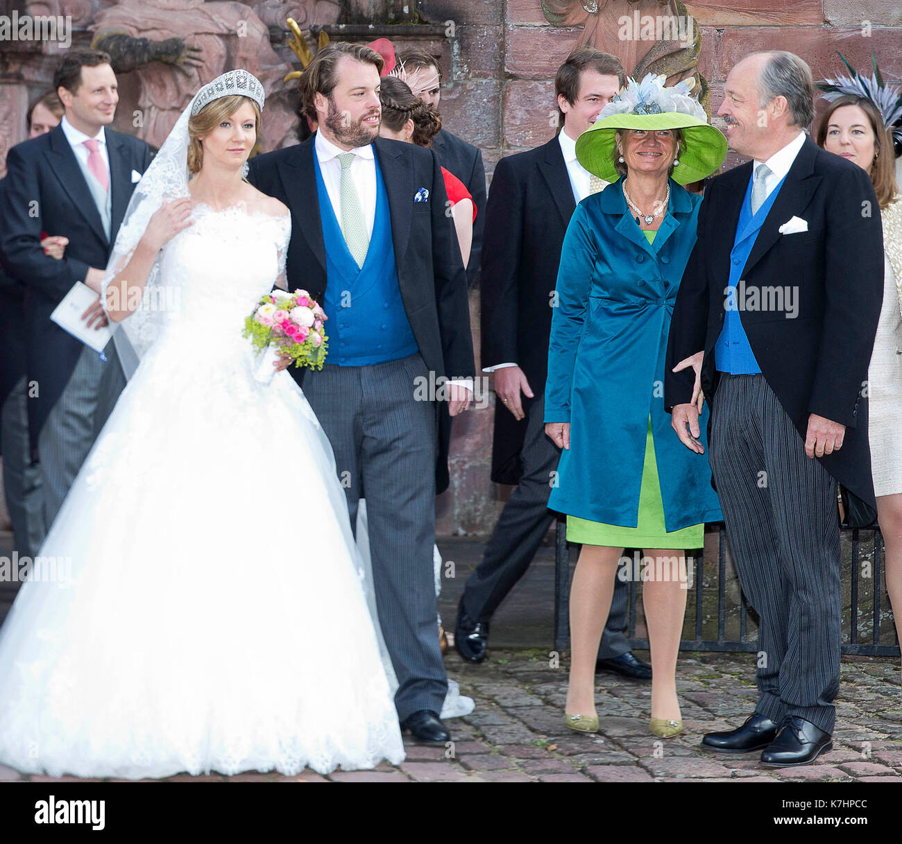 Amorbach Germany 16th Sep 2017 Hereditary Prince Ferdinand Of Stock Photo Alamy