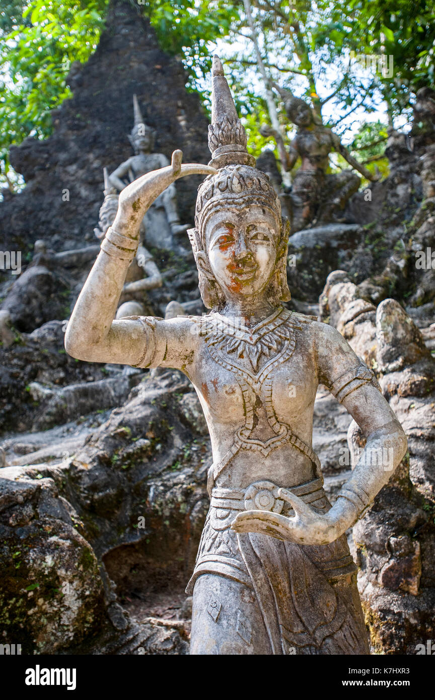 Secret Buddha Garden, Koh Samui, Thailand - Stock Image