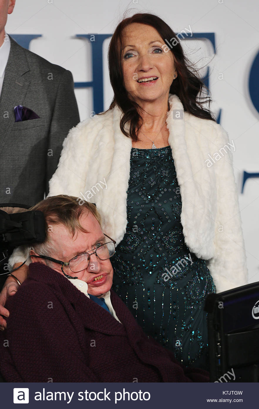 Stephen Hawking And Jane Hawking World Premiere Of The Theory Of Everything