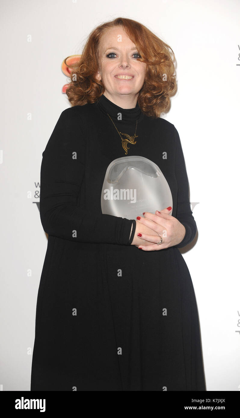 Photo Must Be Credited ©Kate Green/Alpha Press 079965 4/12/2015 Gillian Dodders Women In Film and TV Awards 2015 Park Lane Hilton London - Stock Image