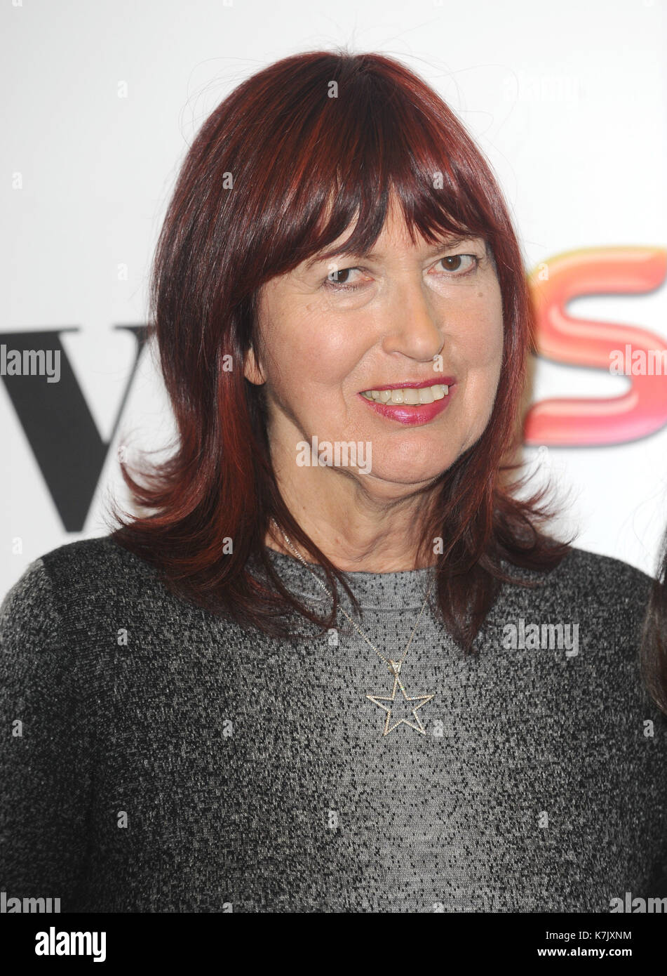 Photo Must Be Credited ©Kate Green/Alpha Press 079965 4/12/2015 Janet Street Porter Women In Film and TV Awards 2015 Park Lane Hilton London - Stock Image