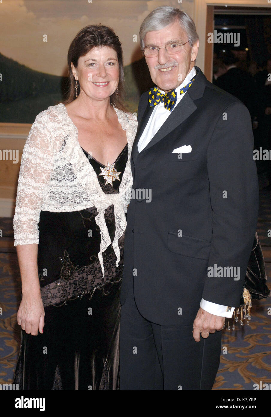 Picture Must Be Credited CAlpha Press 064144 14122006 Jimmy Hill And Wife Bryony The Sparks Winter Ball At London Hilton Park Lane