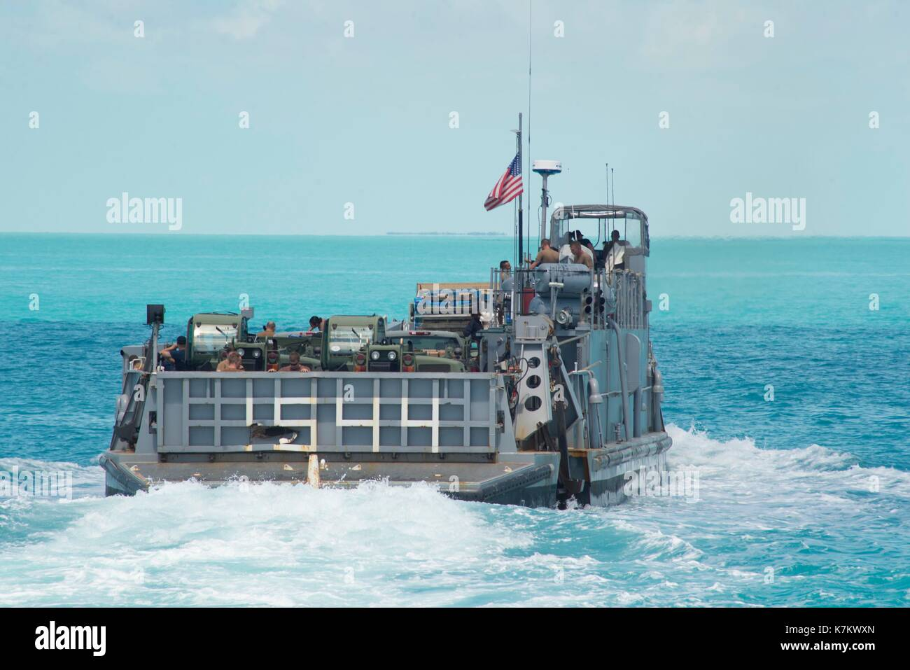 Landing Craft Unit, attached to Assault Craft Unit (ACU) 2 - Stock Image