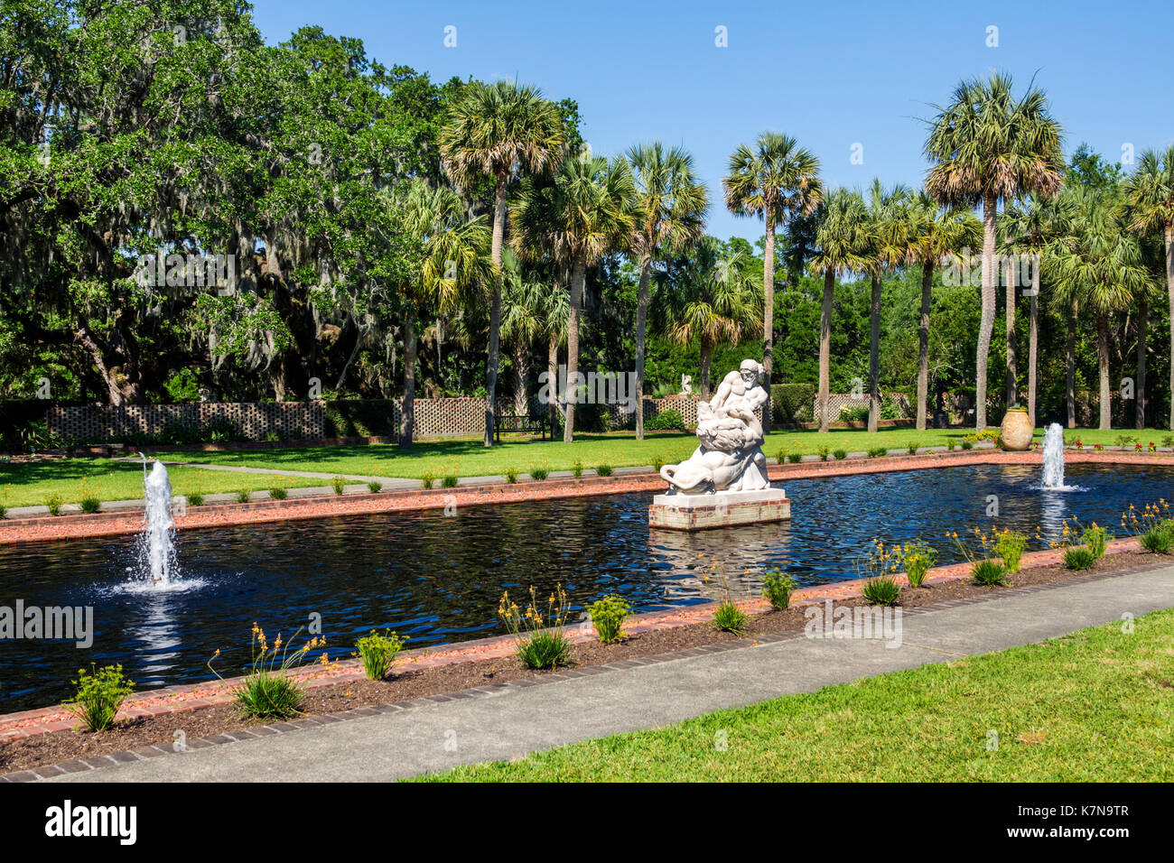 Myrtle Beach South Carolina SC Brookgreen Gardens sculpture garden ...