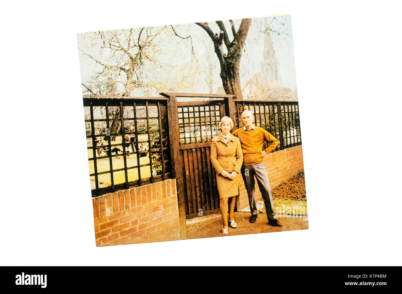 Unhalfbricking was the third album by British folk rock band Fairport Convention. Released in 1969. - Stock Image
