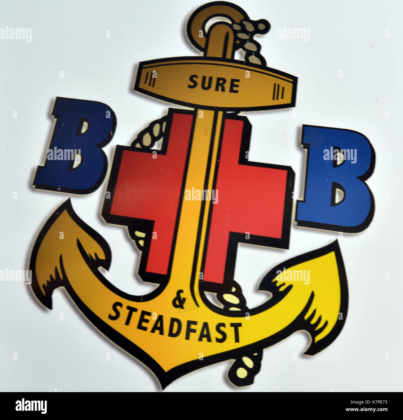 the boys brigade youth group. religious background and societies for young people and children. teaching morals and principles to youngsters - Stock Image