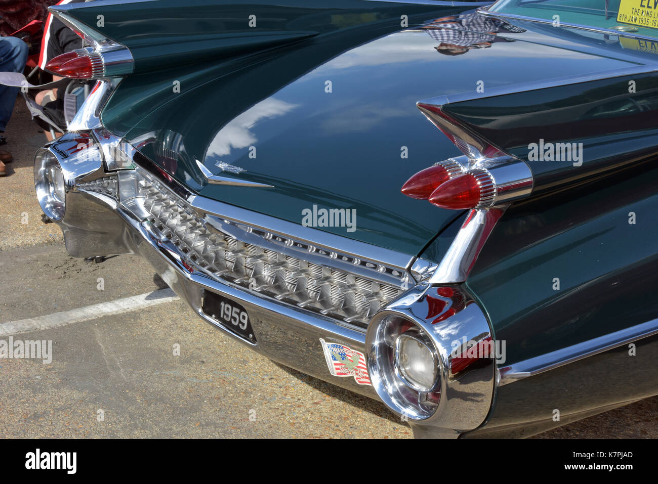 classic, vintage and collectors cars on show at a motorists classic and collectors car show. - Stock Image