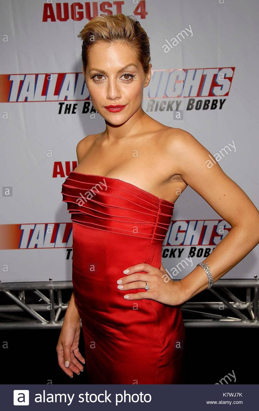 Brittany Murphy Red Dress Silk Red Silk Strapless Blonde Hair