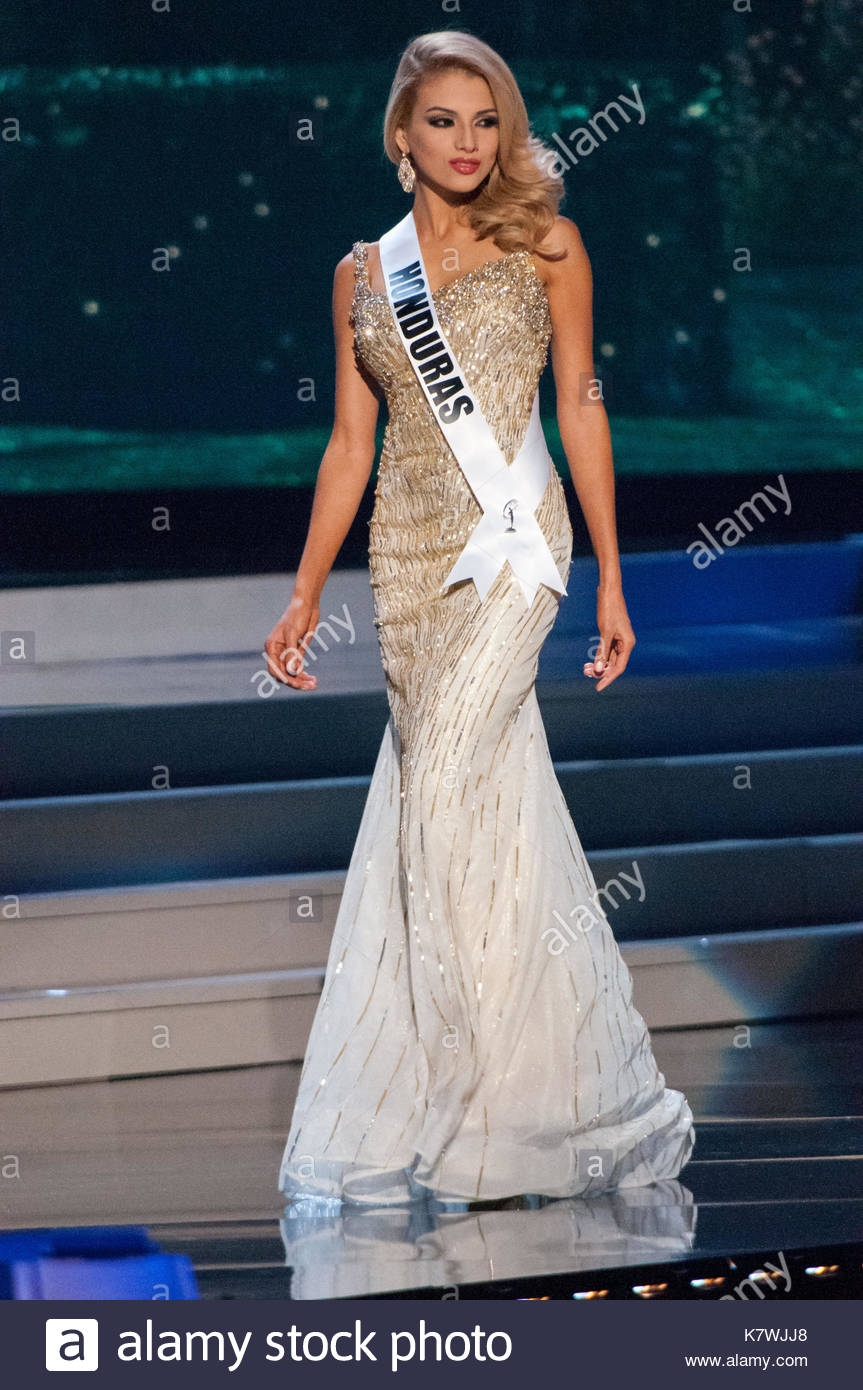 Honduras Gabriela Ordonez. Evening Gown Competition at the 63rd ...