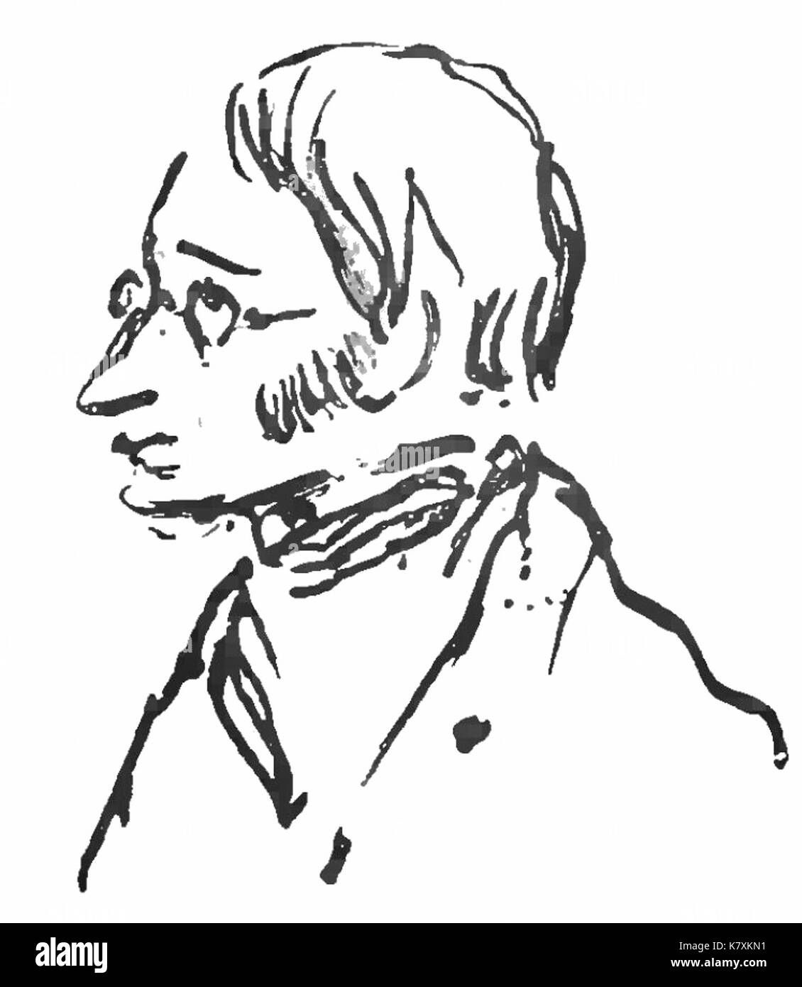 Joseph Henri par Victor Hugo, Choses vues, tome I - Stock Image