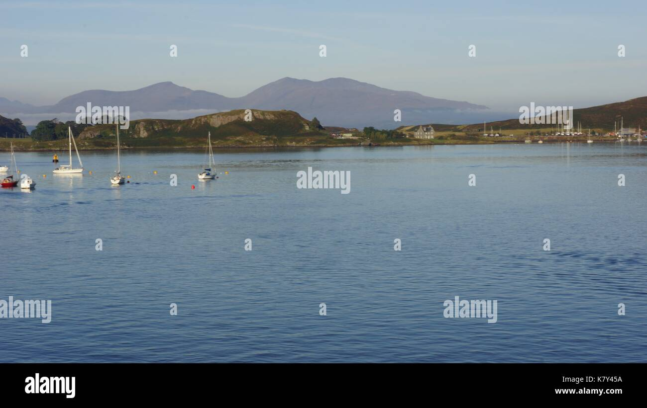 Scotland, Mull, Oban, Spean Bridge - Stock Image
