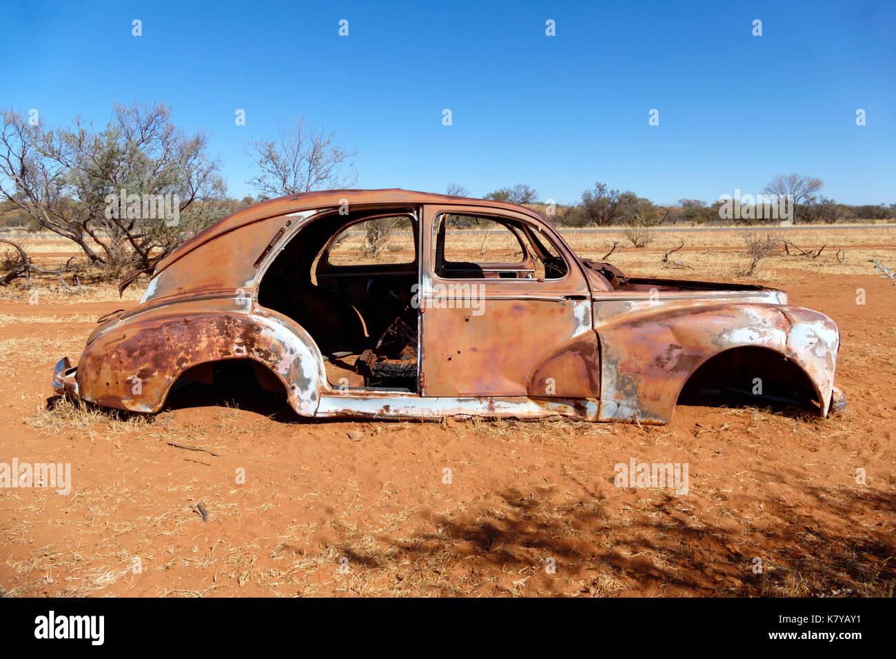 Abandoned Car Australia Stock Photos & Abandoned Car Australia Stock ...