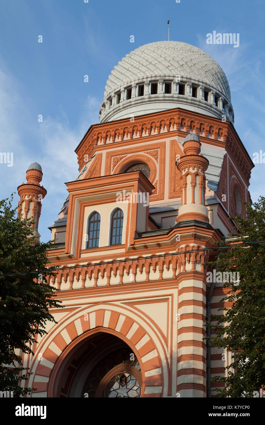 The Grand Choral Synagogue of St. Petersburg, Russia. - Stock Image
