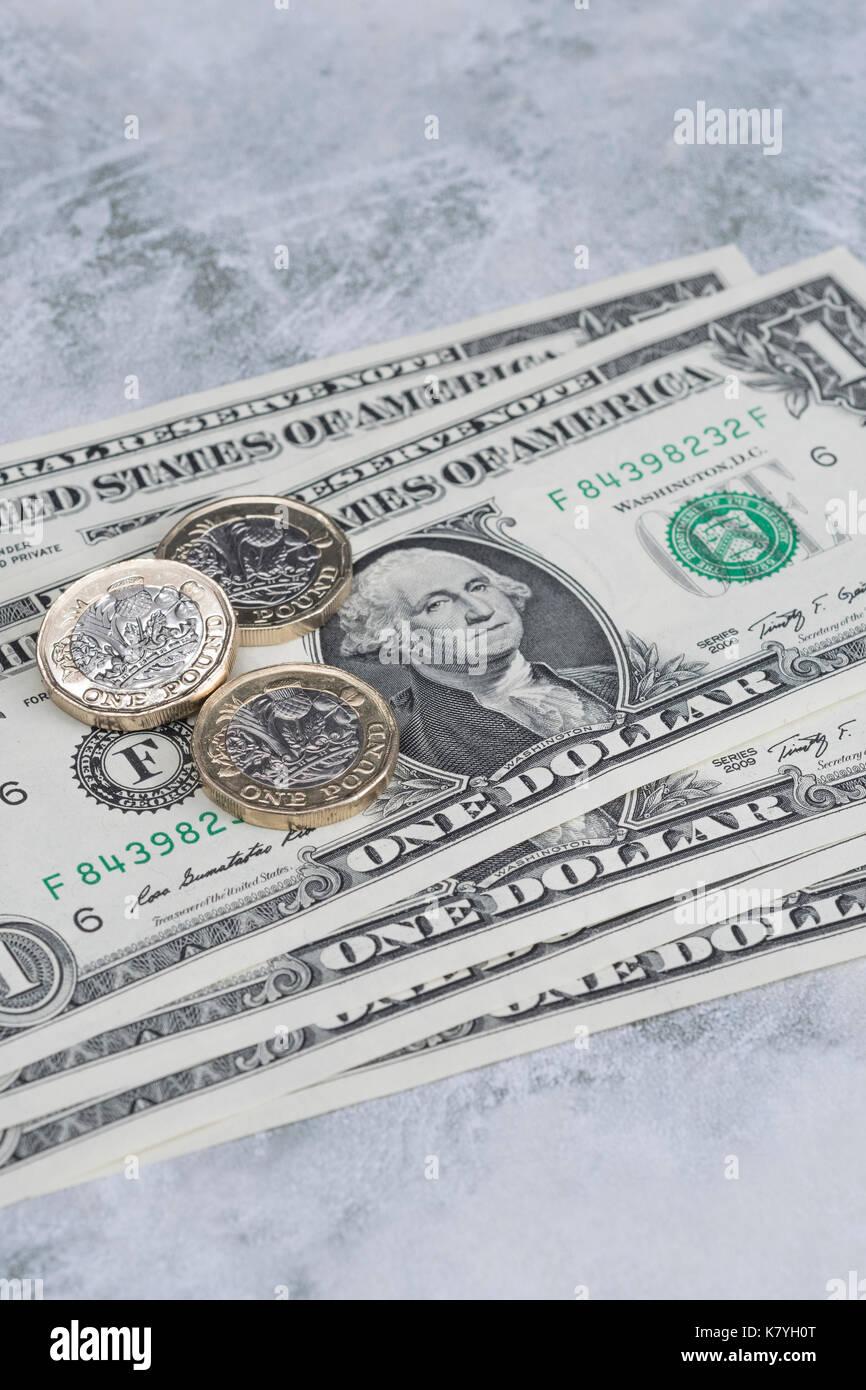 Us Dollar Bill Both Sides Stock Photos & Us Dollar Bill Both