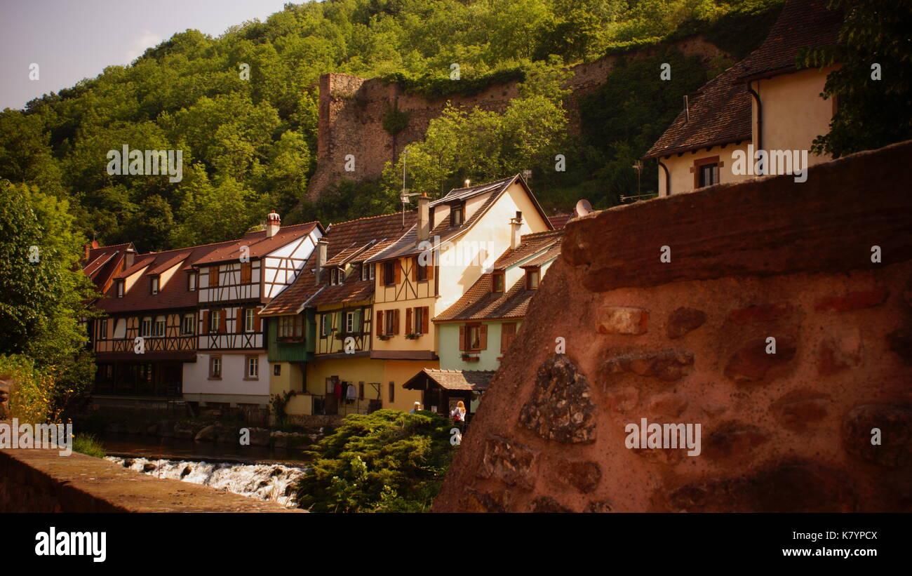 Colmar Alsace France Stock Photo